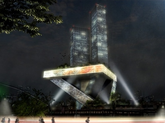 Architecture Photography: New York City Theatre / David Vecchi & Emanuela Ortolani New York City Theatre (2) – ArchDaily #nyc #architecture