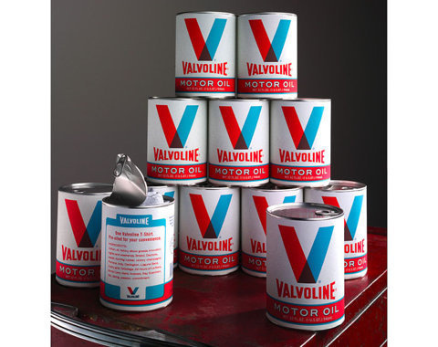 Valvoline OilT-Shirt - TheDieline.com - Package Design Blog #packaging