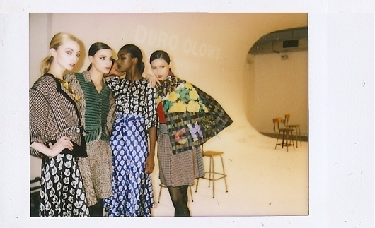 POPAFRICANA.COM » FASHION #fashion #models #polaroid