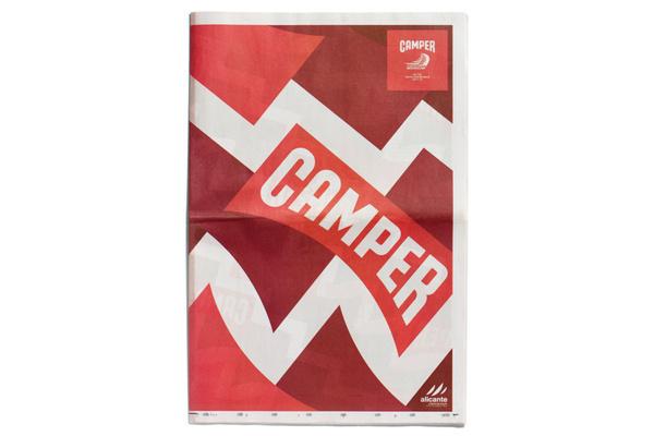 Camper | Volvo Ocean Race newspaper | Editorial design #camper #farrow #print #design #paper