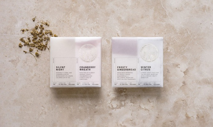 Rich Natural Handcrafted Soap - Mindsparkle Mag Projet Noir designed the branding and identity system for Rich Natural Handcrafted Soap. #logo #packaging #identity #branding #design #color #photography #graphic #design #gallery #blog #project #mindsparkle #mag #beautiful #portfolio #designer