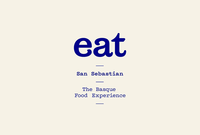 Eat San Sebastian by We are Rifle #logo #logotype #mark
