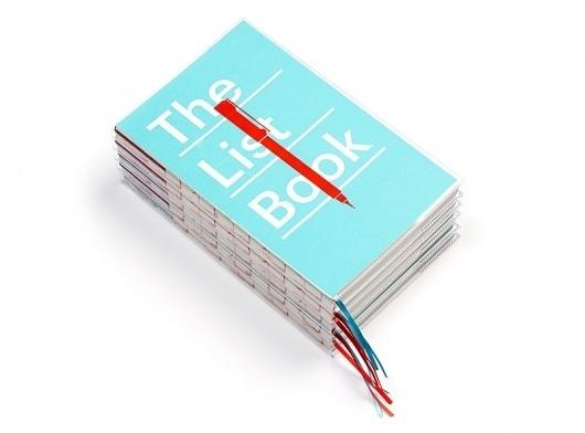 The List Book   Aad #notebook #aad #lists