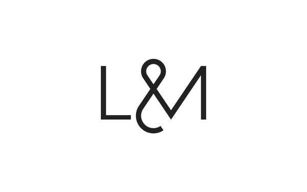 R&Co. Design HalfPast Logo http://r-ny.com/ #lettering #logo #monogram #symbol #minimal #type #typography