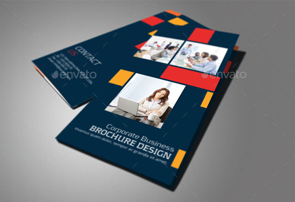 30 Really Awesome Colorful Brochure Templates