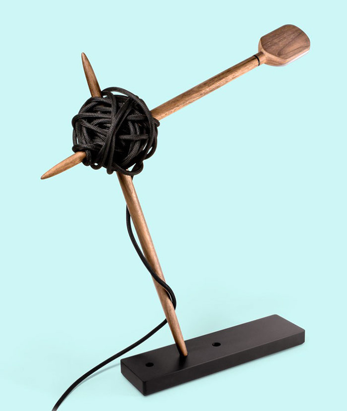 Needle Lamp With Swing Arm