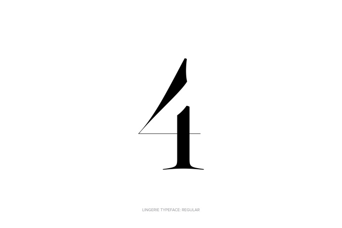 Lingerie Typeface - The Most Advanced Typeface For Fashion And Luxury by Moshik Nadav Typography #Lingerie #Typeface #Fashion #FashionTypogr