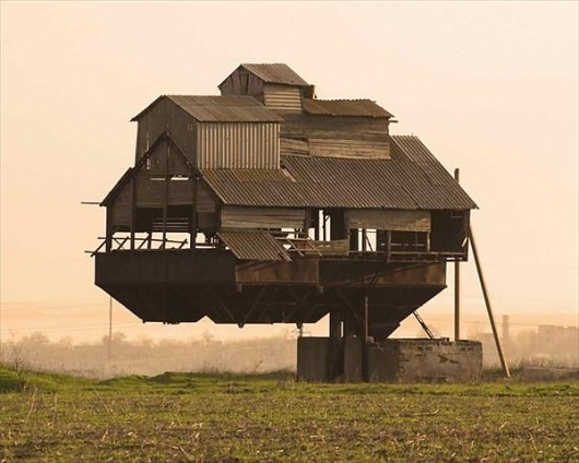 Floating Castle (Ukraine) | AnOther | Loves #floating #building #farm #castle #country