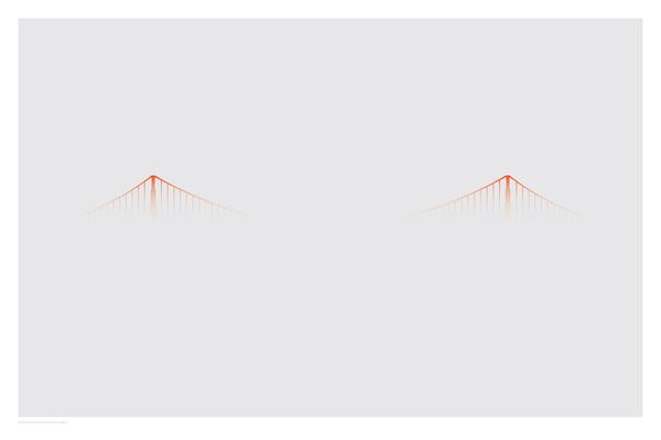 ISO50 Blog – The Blog of Scott Hansen (Tycho / ISO50) » The blog of Scott Hansen (aka ISO50 / Tycho) » Page 3 #smog #san #poster #francisco #bridge