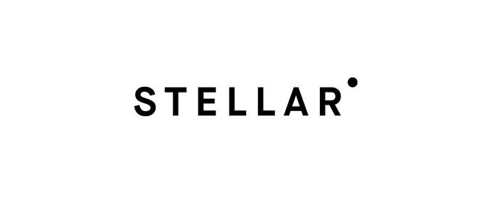 Typography, Logo, Packaging. Stellar, Bruce Mau Design, white, black