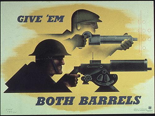 photo #war #soldier #wpa #working #barrel #work