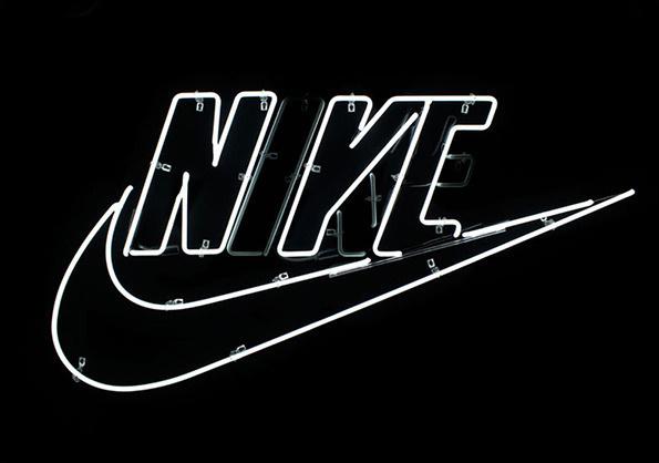 NIKE NYC Tertiary branding #triboro #nike #design #neon