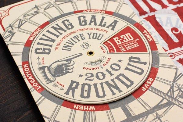 Giving Gala Invitation #invites