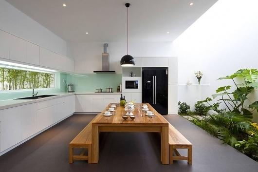 Beautiful Houses: Go Vap House in Vietnam | Abduzeedo | Graphic Design Inspiration and Photoshop Tutorials #interior design #architecture #h