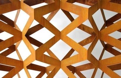 concevoir #metal #geometry #pattern