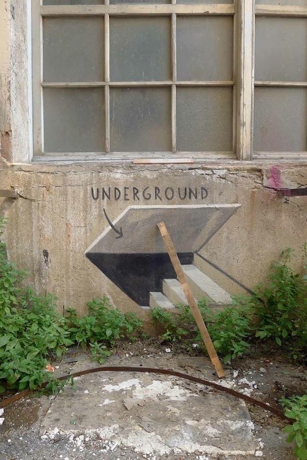 New Escif Street Art In Barcelona, Denmark and Montreal #art #street