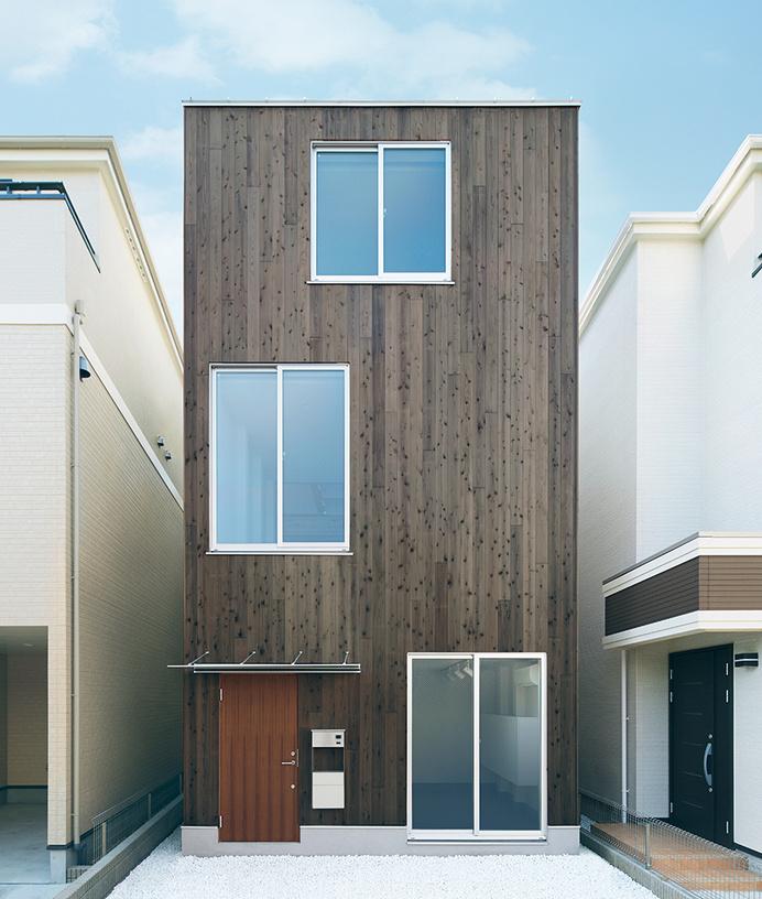 縦の家―都市に賢く住まう家|無印良品の家 #modern #japanese #architecture #housing