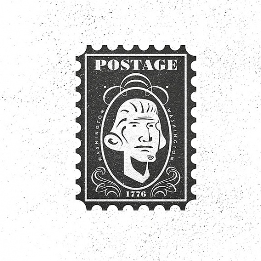 All sizes | postage stamp | Flickr - Photo Sharing! #illustrator #illustration #vintage #art #artist #christopher #paul