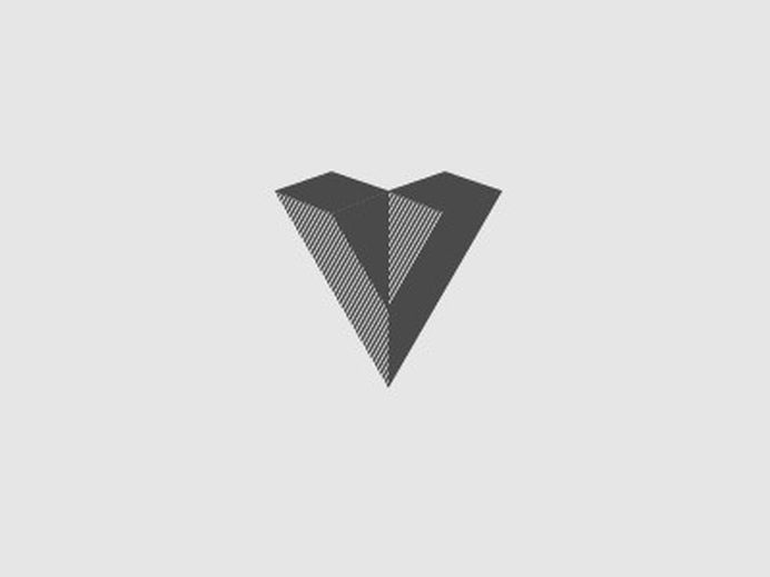 Dribbble - More V by Jeff Domke #mark #logo #letter