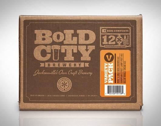 Kendrick Kidd #beer #12 #design #pack #typography