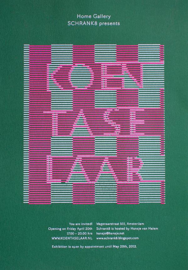 Schrank8 presents Koen Taselaar - www.hansje.net #cover #graphic #publication #typography
