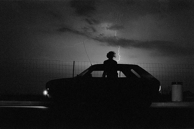 the #thunder of guns, tore me apart