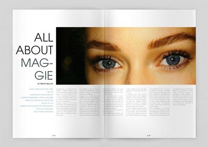 Magazine Spread 2 #magazine