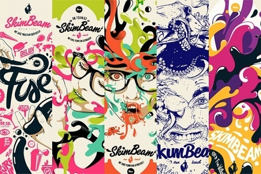 Looks like good Artworks by Fuse Collective #board #design #graphic #illustration #graphics