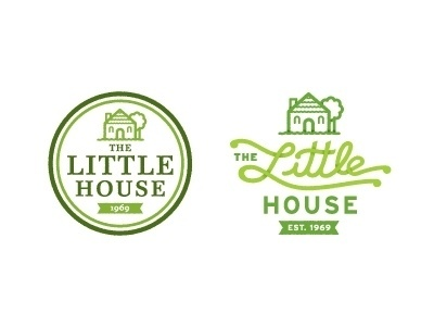 Dribbble - The Lil' House by Greg Christman #logo #illustration #design #house