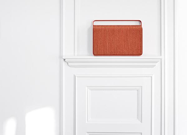 copenhagen wireless loudspeaker by VIFA features custom kvadrat cover #audio