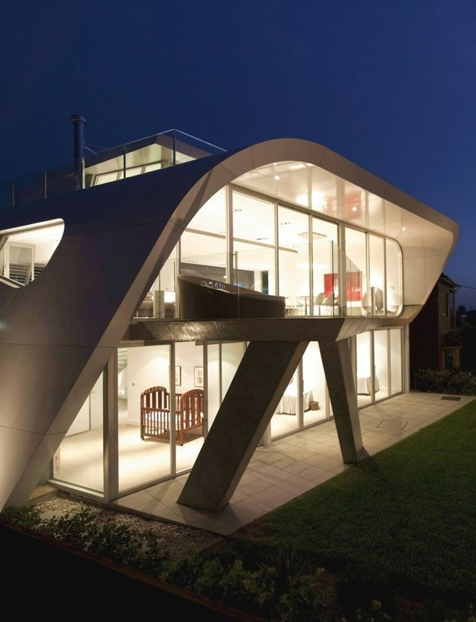 The Moebius House by Tony Owen Partners #creative #architecture #house