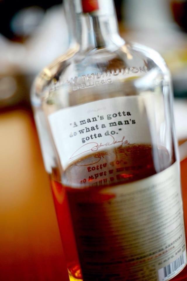 #bottle #man #whiskey