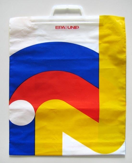 Vintage Swiss Plastic Bag #simple #bag #swiss #vintage