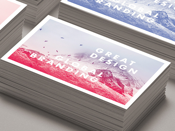 STUDIOJQ // Businesscards on Behance #red #branding #business #businesscards #photo #print #brand #studio #gif #gradient #blue #cards