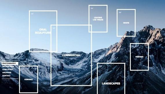 Olivier Staub Web design inspiration from siteInspire #site
