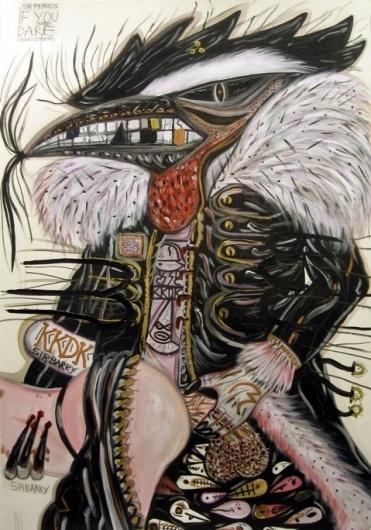 Abdul Vas - Sir Barry | 5 Pieces Gallery - Contemporary Fine Arts & Photography #artist #art