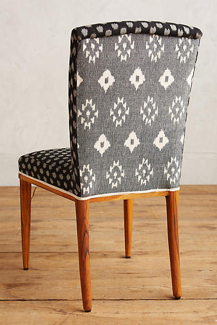 Elza Ikat Dining Chair, Anthropologie