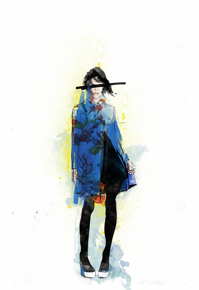 L O K A L F L O R A L - Rosco Flevo #model #design #graphic #artscumantics #floral #illustration #postartfuckery #fashion #moment #coloirs