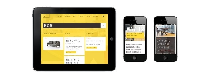 MONOSPACE WEBSITE CONCEPT | Niketo:Portfolio #responsive #app #web