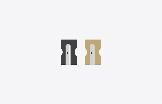 Matthew Hancock | Blog #iconography #design #graphic #icons #illustration #pencil #sharpeners