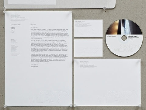 FFFFOUND! #white #stationary #design #black #identity #and #layout #typography
