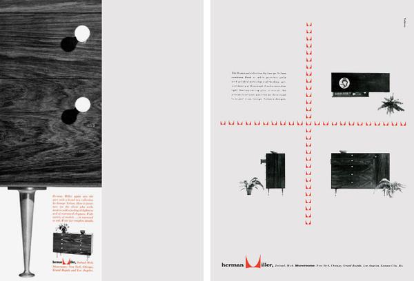 george_tscherny_14 #miller #george #design #graphic #product #layout #herman #tscherny