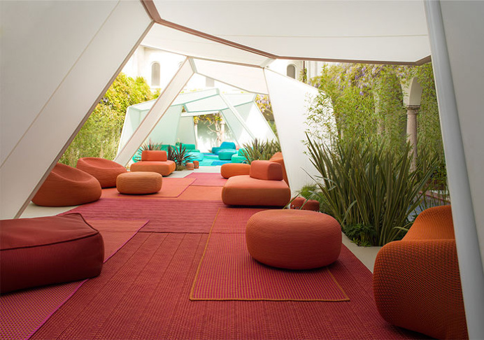 Elegant Simple and Long-lasting Furniture by Paola Lenti - #outdoor, #furniture, outdoor