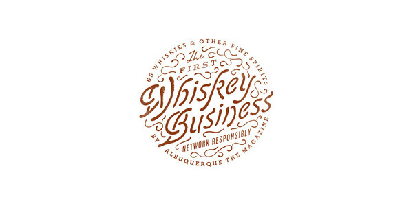 WHISKEY BUSINESS Jesse Arneson #type #lettering #logo