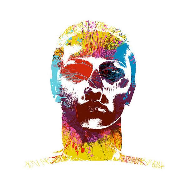 Face #illustration #colour #face
