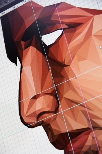 Mundos Internos - Obstacle [ 1 ] on the Behance Network #face #piccaso #geometry #cubism