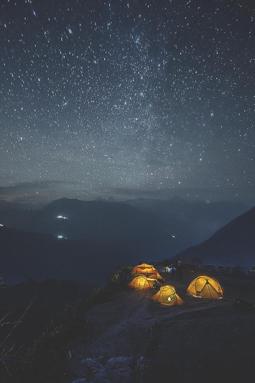 Nepal night star by: Alexander Forik
