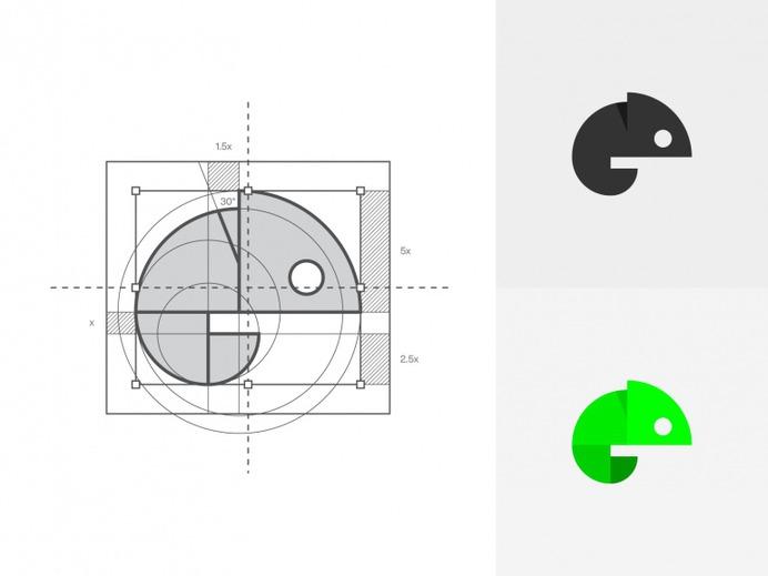 Chame – Logo Construction by Nahrizul Ashraf