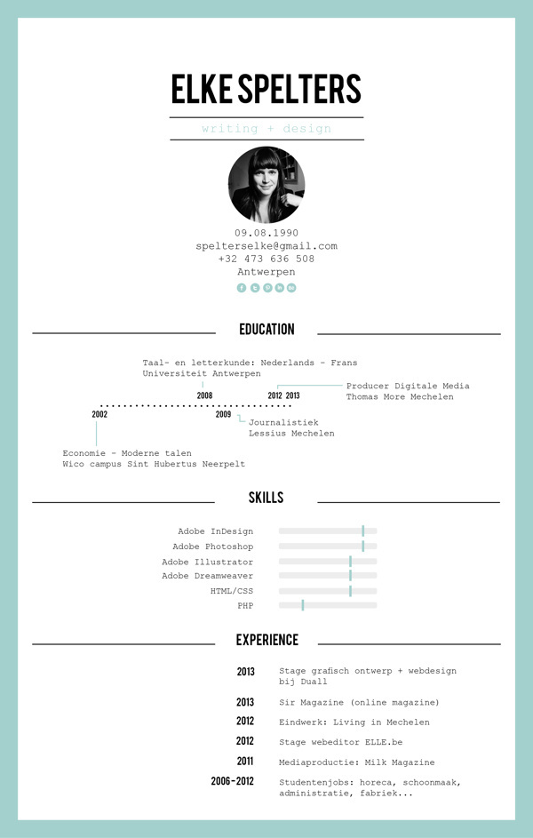 best typography resume behance cv images on designspiration