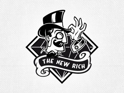 The_new_rich #rich #community #illustration #logo #new